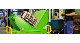 RUD Tool mover for Safe Handling & Rotation of Heavy Plant & Injection Moulding Tools 10-64 Tonnes