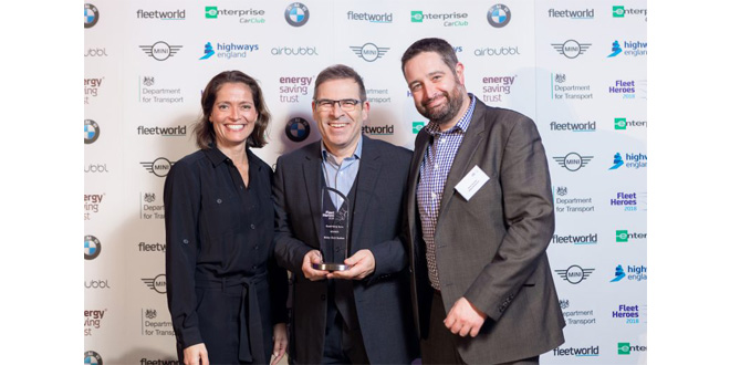 BIBBY DISTRIBUTION DOES THE DOUBLE AT ENERGY SAVING FLEET HEROES AWARDS