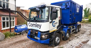 FIRST RENAULT TRUCKS FOR COMLEY DEMOLITION