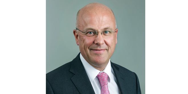 Ian Melhuish Vice President of Sales for Yale in EMEA