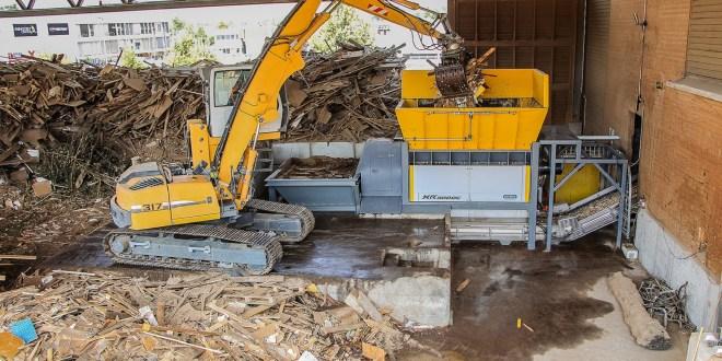 Swiss waste expert overhauls biomass with UNTHA shredder