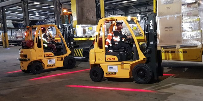 Fuel savings and smarter working for forklift fleet