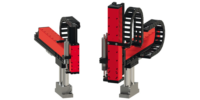 Two new handling systems for higher force ranges complement Afag YZ boom