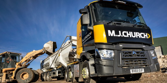 Used trucks by Renault Trucks 'Full Package' seals the deal with MJ Church