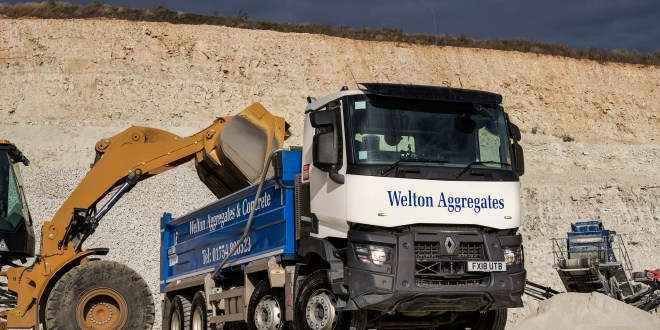 WELTON AGGREGATES ADDS RENAULT TRUCKS RANGE C TO SUPPORT BUSINESS BOOM