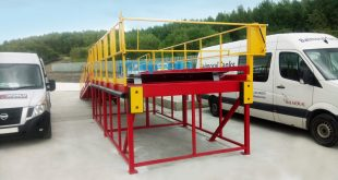 Balmoral Tanks stores up the ideal loading dock solution for purpose-built site
