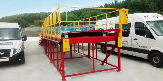 Balmoral Tanks stores up the ideal loading dock solution for purpose-built site from Thorworld Industries