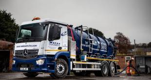 Cost savings flow after Wales Environmental switches to new Mercedes-Benz