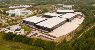 Hörmann is the partner of choice for first industrial distribution campus at Blythe Valley Park