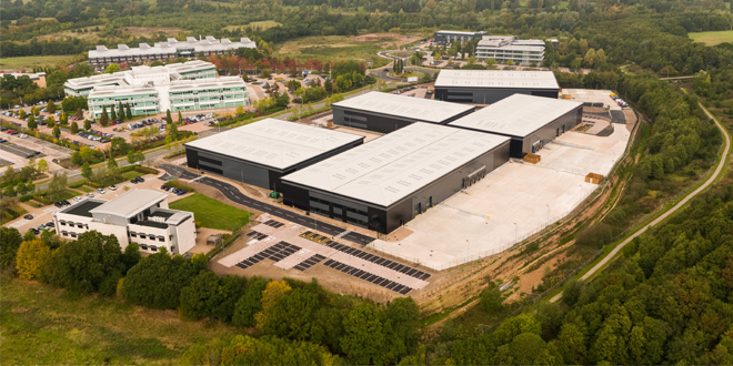 Hörmann is the partner of choice for first industrial and distribution campus at Blythe Valley Park