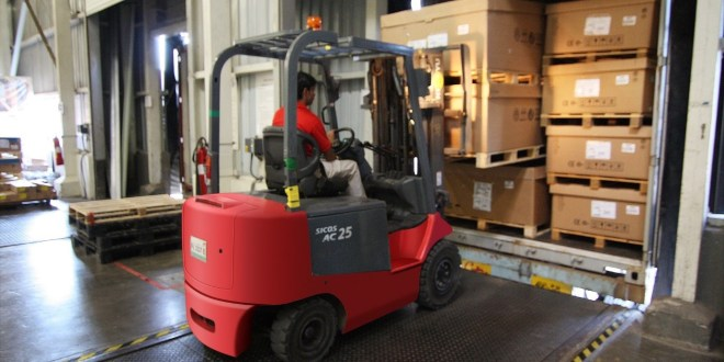How to improve forklift safety in cold weather