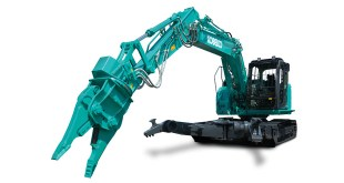 Kobelco strengthens its demolition and vehicle dismantling range