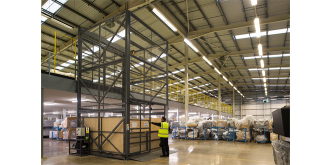 DFS lifts warehouse efficiency to new level