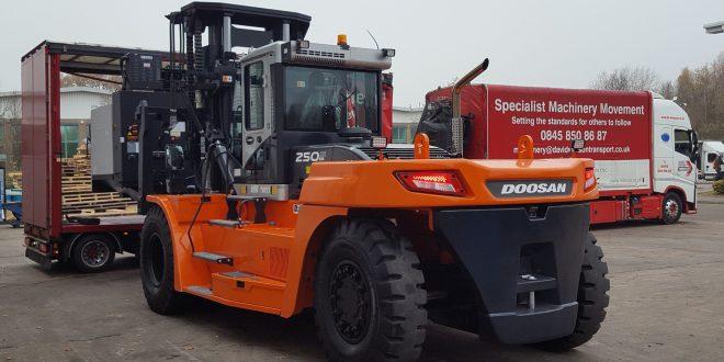 Mills CNC goes for heavy handling with Doosan Industrial Vehicles gentle giant