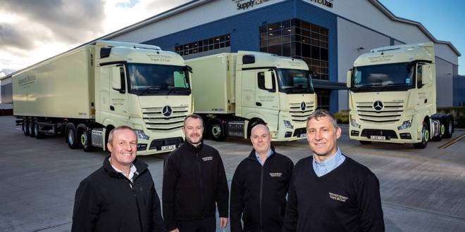 Samworth Brothers enters 2019 with breakthrough fleet of 18 Mercedes-Benz Actros