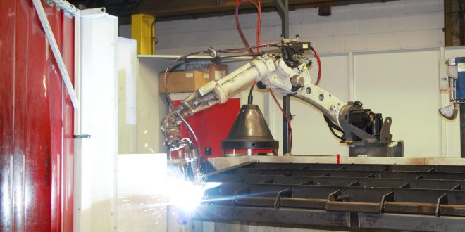 THE CARTWRIGHT GROUP IMPROVES PRODUCTIVITY WITH ROBOTIC WELDER