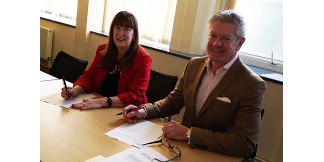 The Supply Chain Academy and Leeds Trinity University sign agreement