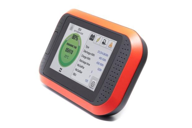 Truck iQ smart battery dashboard