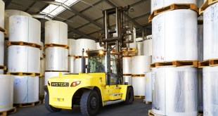 DRIVER ENVIRONMENT FOCUS FOR HYSTER LIFT TRUCKS IN HEAVY DUTY APPLICATIONS