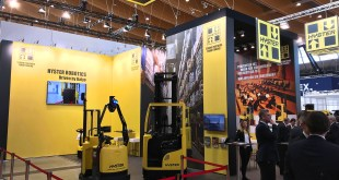 INDUSTRY 4 HYSTER EUROPE INTRODUCES TRUCK BASED ROBOTICS SOLUTIONS