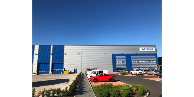 New Building, New Branding & New Website for Advanced Handling