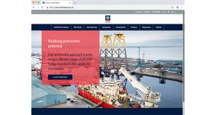 New website for Forth Ports showcases