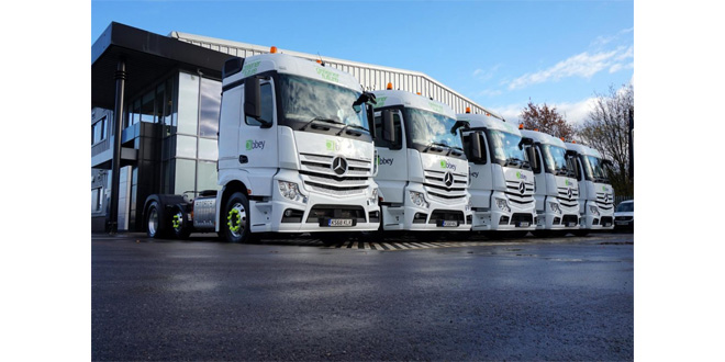 PROHIRE SUPPLIES BULK TRACTOR UNITS TO ABBEY LOGISTICS