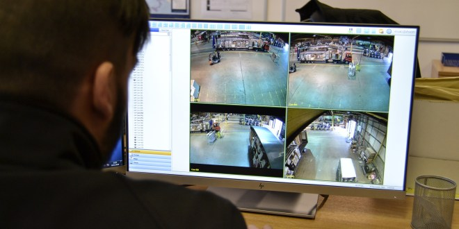 ALL-SEEING CAMERAS TRACK PALLETS THROUGH FORTEC DISTRIBUTION NETWORK HUB