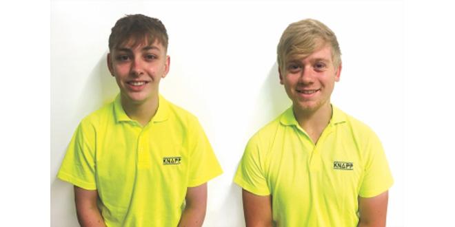 Apprenticeship success continues for KNAPP
