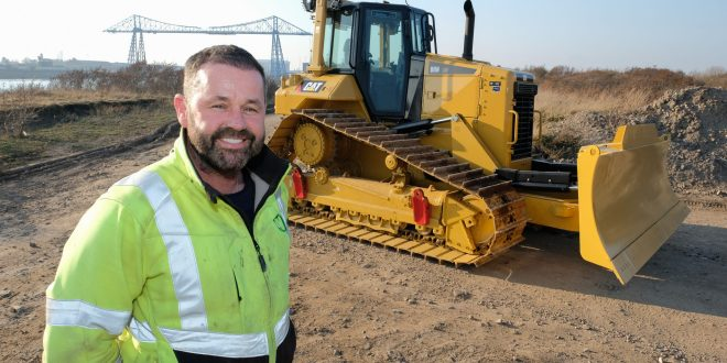 Bulldozer bought by Scotts of the Antarctic