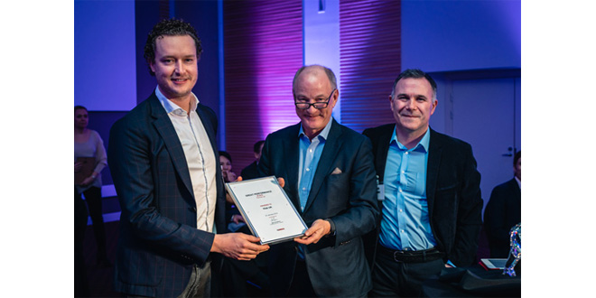 Hiab UK recognised for outstanding performance in annual Cargotec Great Performance Awards