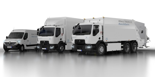 Renault Trucks records a 10% increase in invoiced vehicles in 2018