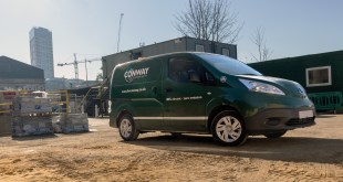CONSTRUCTION FIRM TACKLES PROBLEM OF QUIET ELECTRIC FLEETS WITH HELP FROM BRIGADE ELECTRONICS