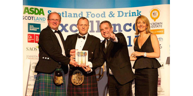EV CARGO PALLETFORCE TO SHOWCASE SOURCING AT SCOTLAND FOOD & DRINK OSCARS