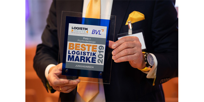 Jungheinrich again honored as Beste Logistik Marke