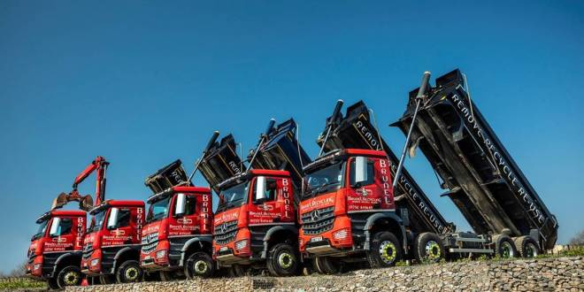 Mercedes-Benz Trucks Dealer Rygor mixes it up for Brunel Recycling