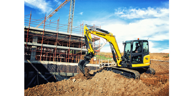 Yanmar to showcase latest compact equipment at Plantworx 2019