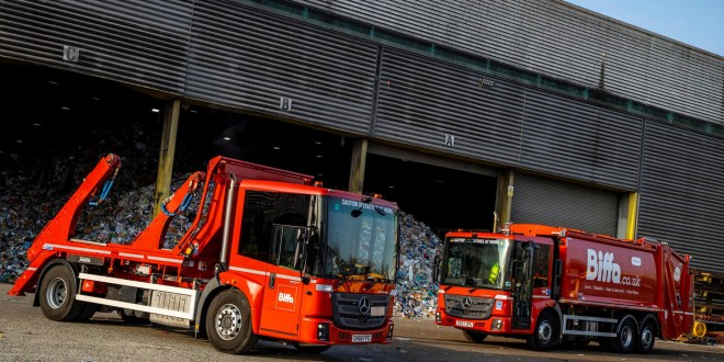 Biffa boosts its Mercedes-Benz Econic fleet with new body variants