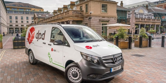 DPD adds to all-electric fleet with UK first Mercedes-Benz eVito vans