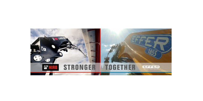 Hiab strengthens portfolio with integration of Effer products and service in the UK