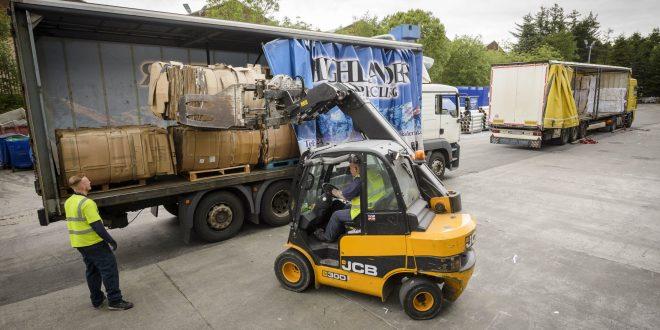 JCB Teletruks deliver for Highlander International Recycling
