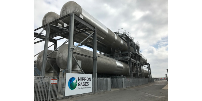 PORT OF TILBURY TEAMS UP WITH NIPPON GASES EUROPE