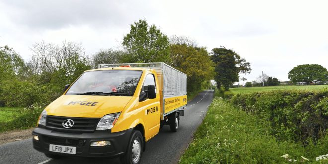 Specialist Contractor McGee looks to the future with the all-electric LDV EV80