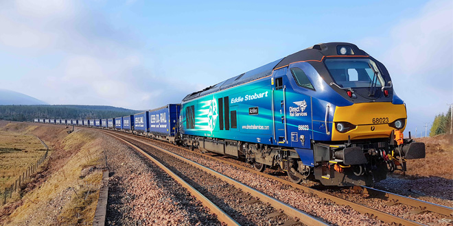 Forth Ports, Eddie Stobart and Direct Rail Services announce new weekend service linking Tilbury and Grangemouth