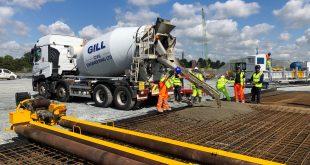 First concrete pour of new Tilbury 2 ro-ro terminal