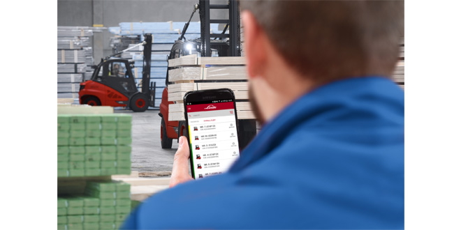 Fleet operators benefit from Linde's new service manager app