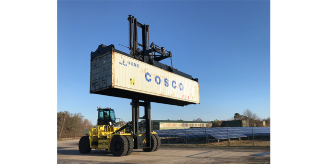 Hyster Europe electric container handlers progress
