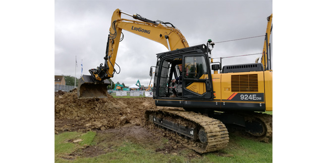 LiuGong Direct (UK) makes its debut at Plantworx 2019