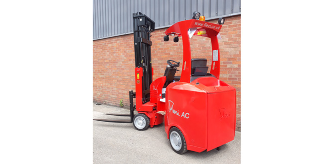 Flexi LiTHiON range of lithium-ion powered articulated trucks energise the forklift market