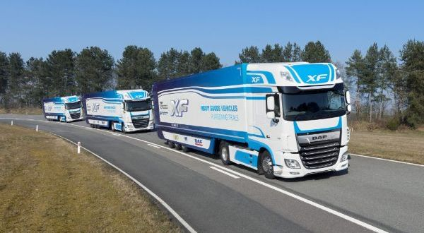 Fusion Processing crunches the data on HGV platooning trial